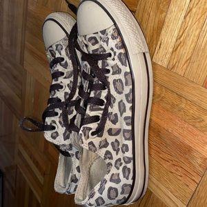 Cute leopard sneakers